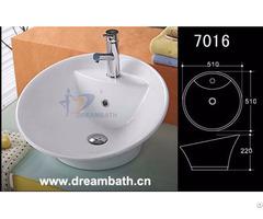 Round Bathroom Basin