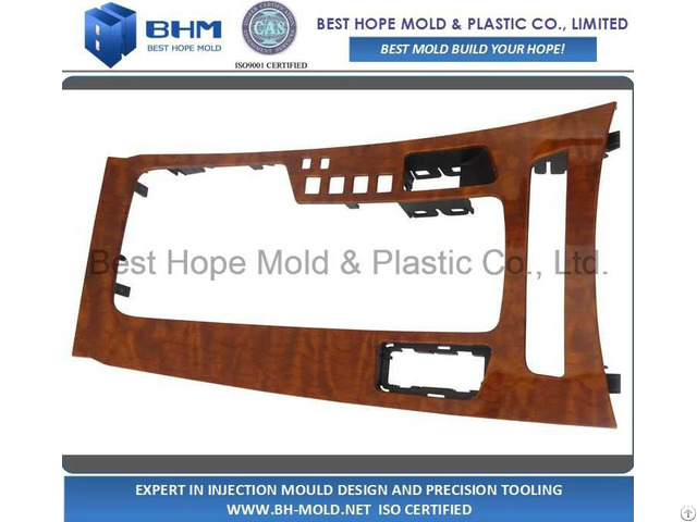 Automotive Central Control Panel Inejction Mold Maker