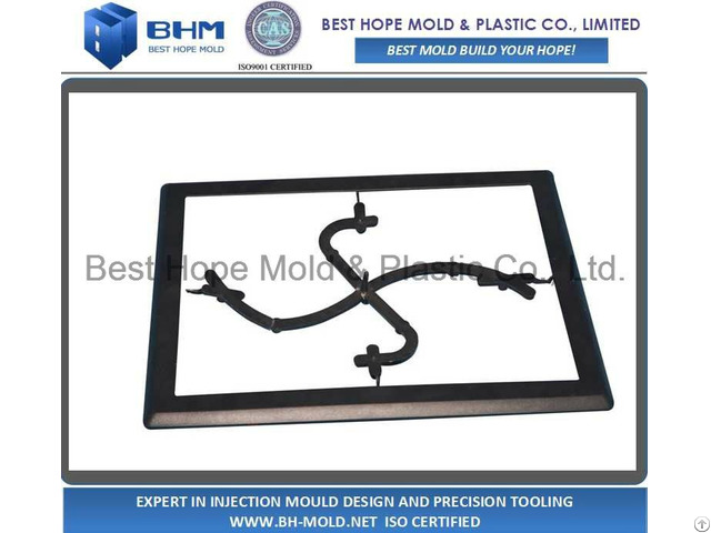 Iso9001 Certificated Lcd Box Injection Mold