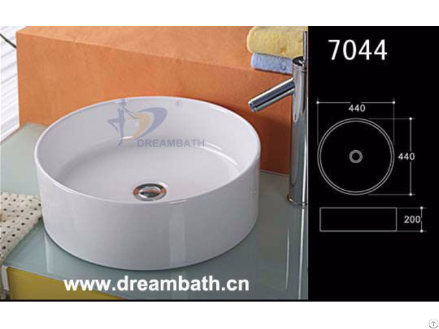 White Bathroom Basin Dreambath