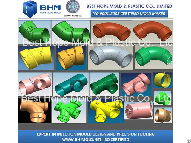 Pvc Elbows Pipe Fitting Mold For Irrigation
