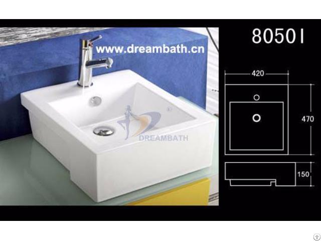 Bathroom Rectangular Sink