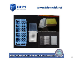 Test Tube Rack Plastic Mold Pipette Tip Mould