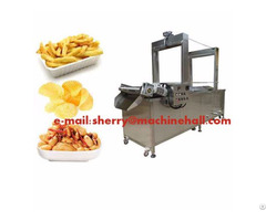 Continuous Automatic Food Fryer Machine