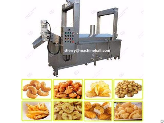 Automatic Banana Chips Fryer Equipment