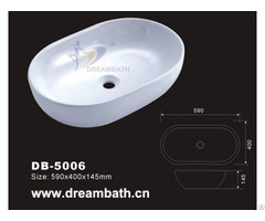 Oval Vessel Basin