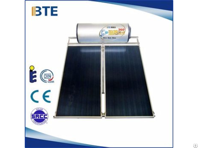 Compact Pressurized Flat Plate Solar Water Heater