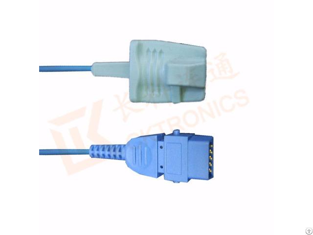 Bci Db9 Pin Adult Silicone Soft Tip Reusable Spo2 Sensor