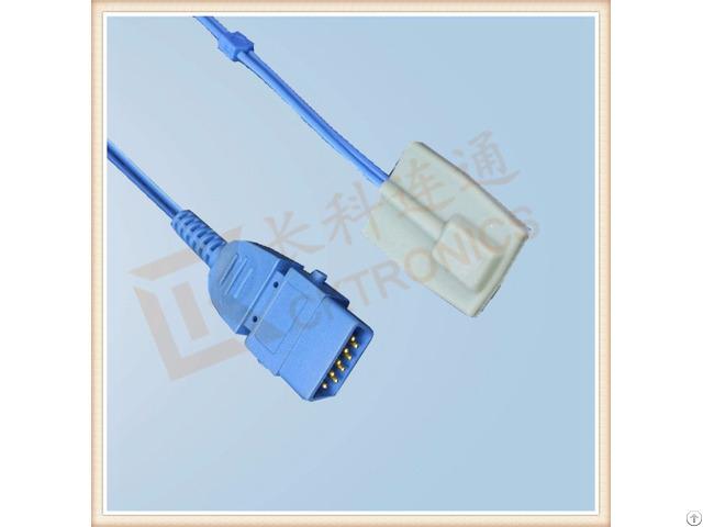 Bci Db9 Pin Pediatric Silicone Soft Tip Reusable Spo2 Sensor