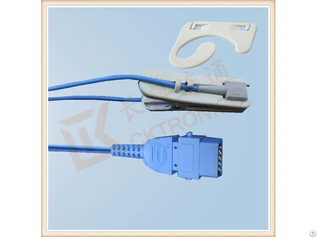 Bci Db9 Pin Adult Ear Clip Spo2 Sensor