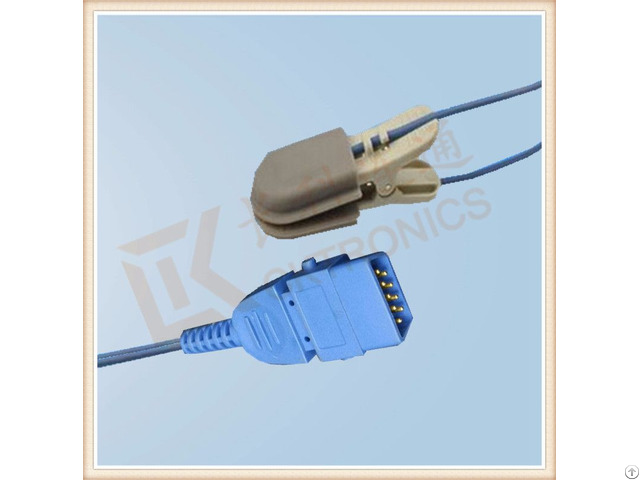 Bci Db9 Pin Animal Use Veterinary Clip Spo2 Sensor