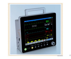 Manufacturer 12 1 Inch Portable Parameter Patient Monitor With Accessories Box