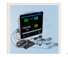 Patient Monitor 15 Inch With Ecg Nibp Spo2 Temp Resp 2