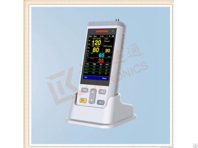 Portable Vital Sign Patient Monitor Nibp Spo2 Temperature