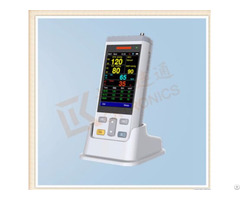 Portable Vital Sign Patient Monitor Nibp Spo2 Temperature