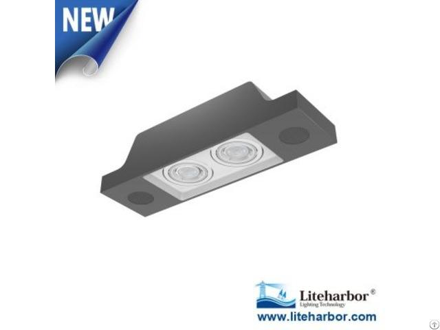 Liteharbor New Design Pendent Mount Led Gu10 Bluetooth Multiple Downlight