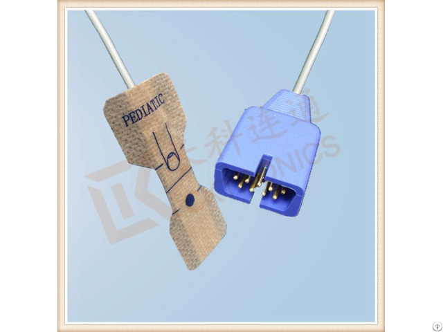 Datex 9 Pin Disposable Spo2 Sensor Pediatric 0 9m