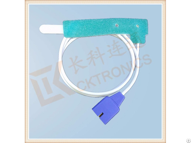 Good Quality Datex 9 Pin Disposable Spo2 Sensor Neonate Adult 0 9m