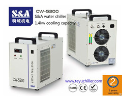 S And A Industrial Chiller Cw 5200 For Embroidery Laser Machine