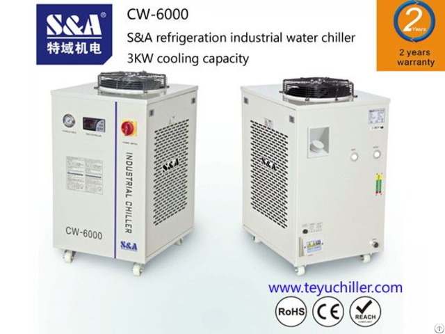 S And A Water Chillers For Spot Welding Application With 2 Years Warranty