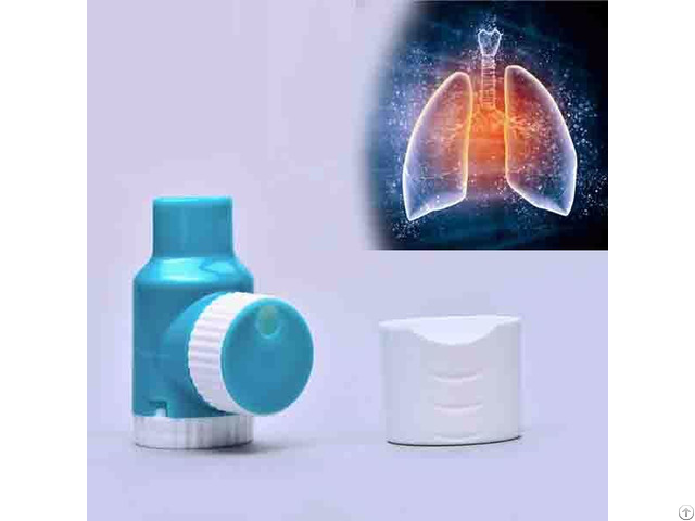 Twisting Single Dose Oral Dry Powder Inhaler