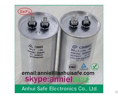 Metal Can Cbb65 Capacitor 10uf 15uf 20uf 25uf 30uf 40uf 50uf 60uf 70uf