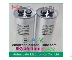 High Temperature Motor Capacitor 50uf 450vac Cbb65
