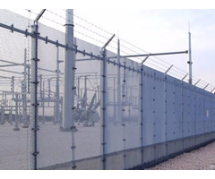 Expanded Security Fence
