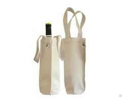 Cheap Cotton Wine Bags Bulk
