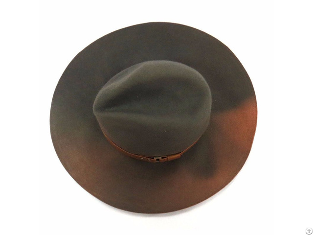 Top Sale Old Effect Wool Felt Hat