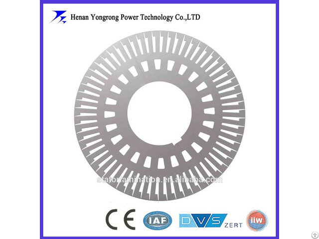 Stator Laminations For Pump Dc Motor
