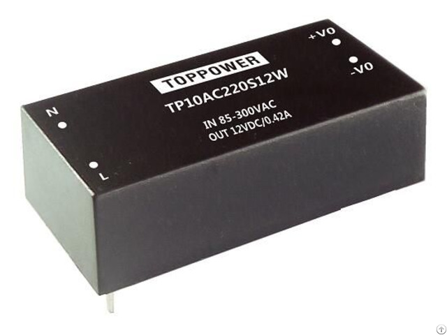Tp10ac220s05w 10w 4kv Isolation Wide Input Ac Dc Converters