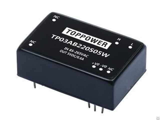 Tp04ab220s05w 4w 3kvac Isolation Wide Input Acdc Converters