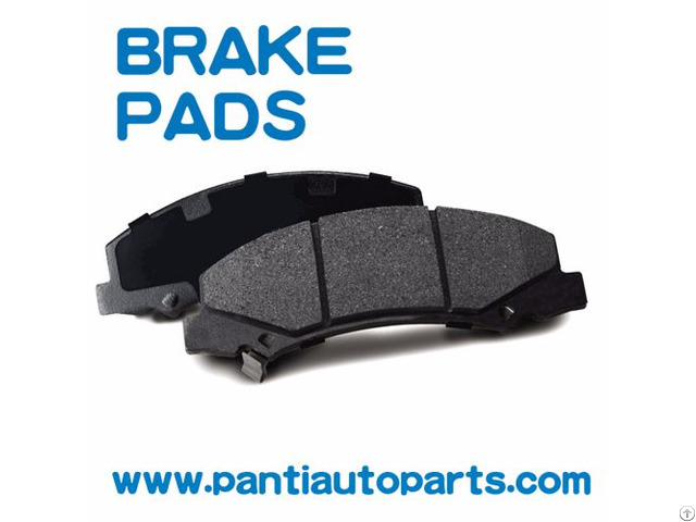 Factory Supply Ceramic Brake Pads For Toyota Car