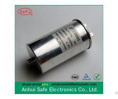 High Quality Metallised Polypropylene Film Cylindrical Motor Run Cbb65 Ac Capacitor