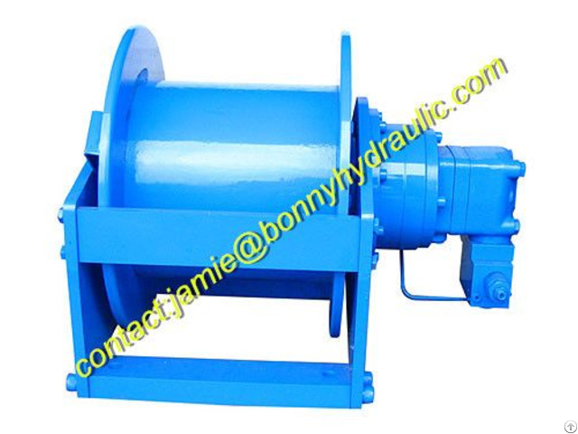 Bg Series Hydraulic Winch