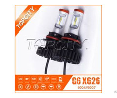 Led Car Headlight Kit 9004 9007 No Fan