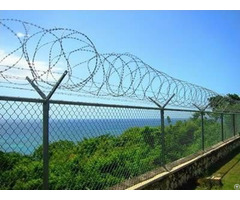 Chain Link Razor Wire Fence