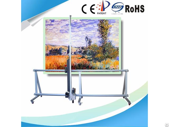 Wall Printing Machine On Glass