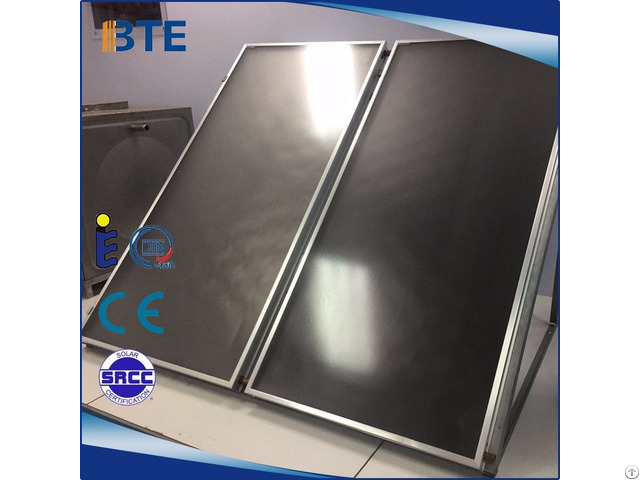 China Glazed Flat Plate Solar Collector For Sale