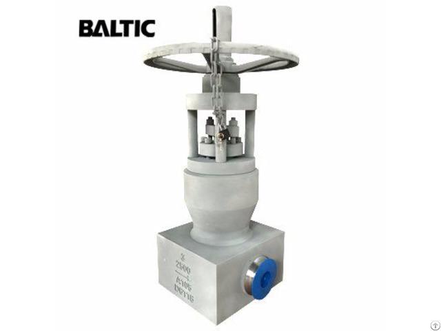 Astm A105 Pressure Seal Bonnet Gate Valve 3 Inch 2500lb Bw