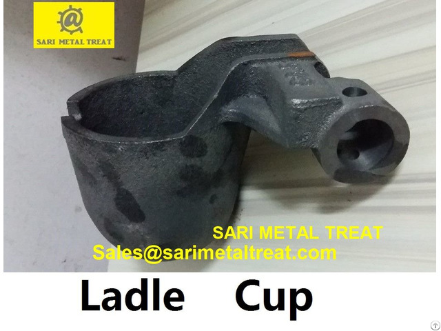 Ladle Cup Cast Iron For Aluminum Die Casting