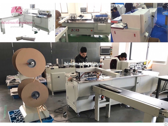 Automatic Twin Wire Binding Machine Pbw580 With Hole Punching