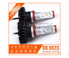 H8 H9 H11 H16j 80w Car Led Headlights