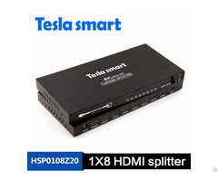 High Quality 8x8 Multi Switch Dsd Audio Format Smart Edid Overwrites Hdmi Matrix