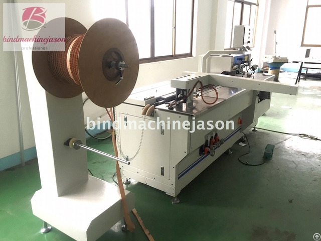 Professional Twin Ring Wire Binding Machine Pbw580 With Hole Punch