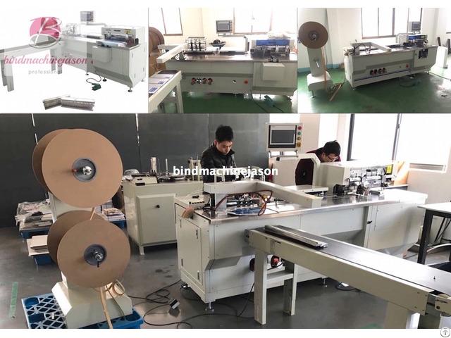 Automatic Twin Ring Binding Machine Pbw580
