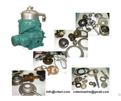 Purifier And Clarifier Parts Alfa Laval Mitsubishi Westfalia