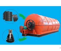 Waste Tyre To Oil Recycling Process Pyrolysis Plant