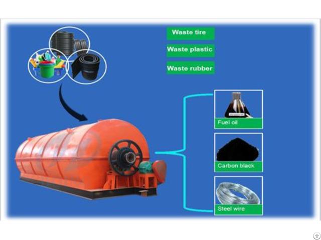 Plastic Bag To Fuel Oil Machine